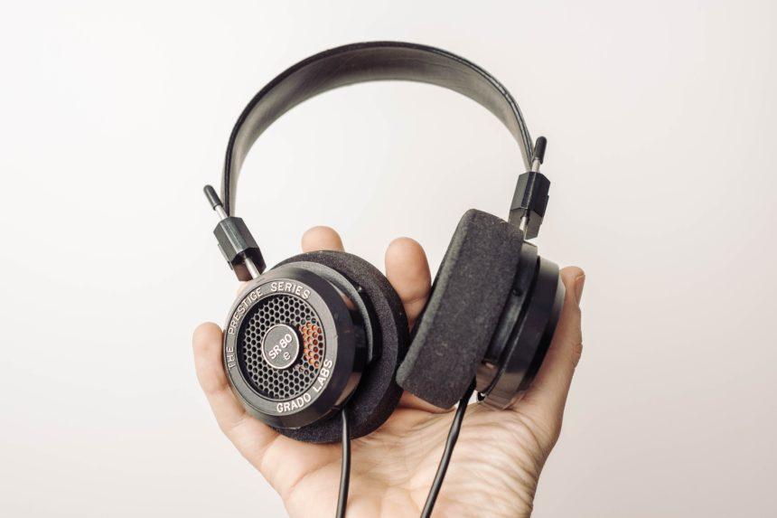 Headphones in Hand